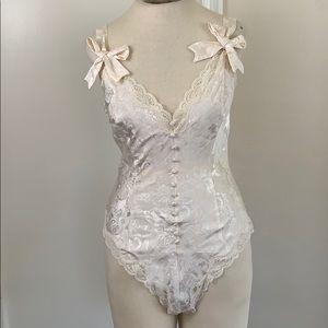 NWT vintage Victoria's Secret lingerie bodysuit